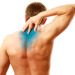 back pain between shoulder blades