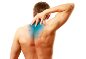 We offer what we suffer – back pain between shoulder blades